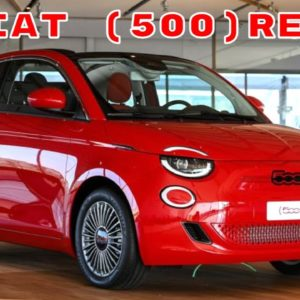 New Fiat 500 RED