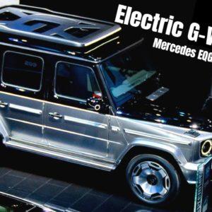 New Mercedes EQG Electric G Wagon