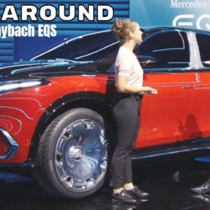 New Mercedes Maybach EQS Concept Walkaround