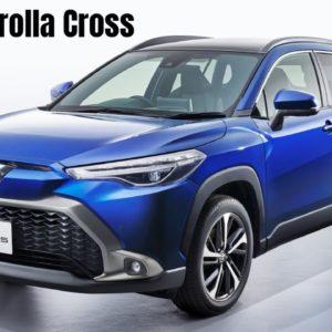 New Toyota Corolla Cross 2022 Revealed