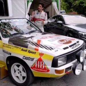 Old vs New Audi Rally Car World Champions Test Drive