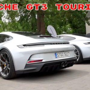 Porsche 911 GT3 Touring in Silver