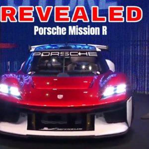 Porsche Mission R Electric Concept Racecar Revealed