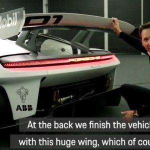 Porsche Mission R Exterior Highlights