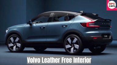 Volvo C40 Recharge Leather Free Interior