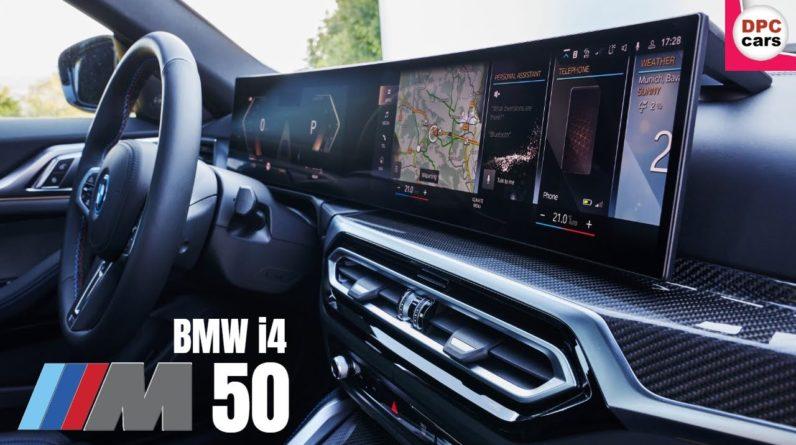 2022 BMW i4 M50 Electric Interior