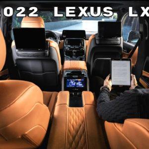 2022 Lexus LX 600 Ultra Luxury Interior