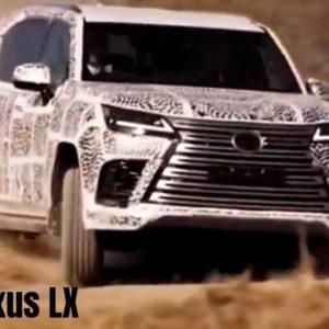 2022 Lexus LX Features and Development