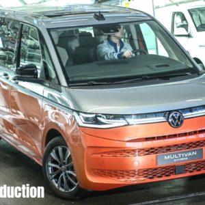 2022 VW Multivan Production in Germany