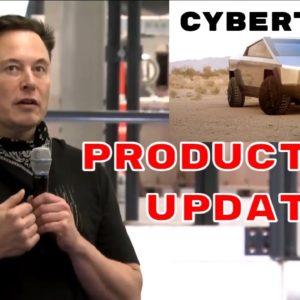 Elon Musk Explains When Cybertruck Production Will Start