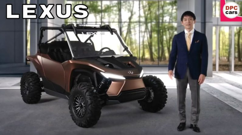 Lexus Hydrogen Powered Concept Quad ATV