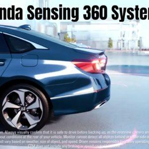 New Honda Honda Sensing 360 System