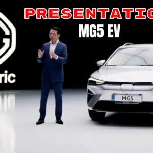New MG5 Electric Presentation