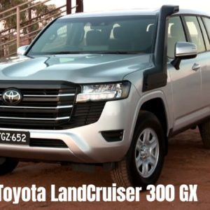 New Toyota LandCruiser 300 GX