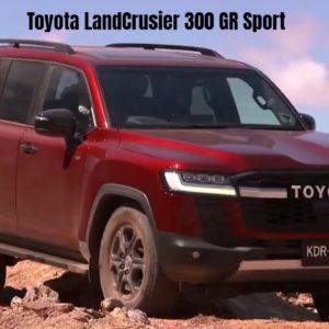 New Toyota LandCrusier 300 GR Sport