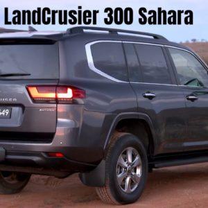 New Toyota LandCrusier 300 Sahara