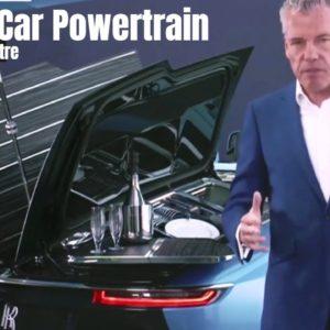 Rolls Royce Spectre Electric Car Powertrain
