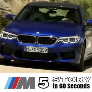 The BMW M5 Story in 60 Seconds